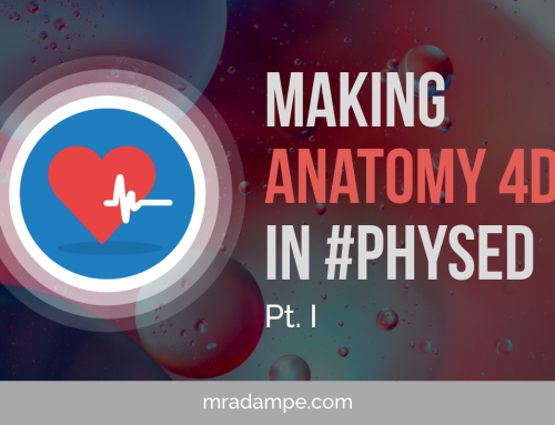 Making Anatomy 4D in Physed