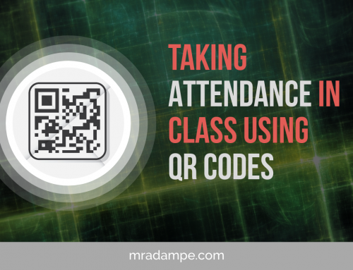 Taking Attendance In Class Using QR Codes