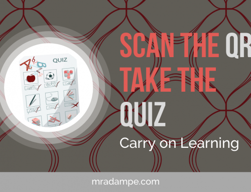 Scan the QR, Go To The Quiz, Carry on Learning