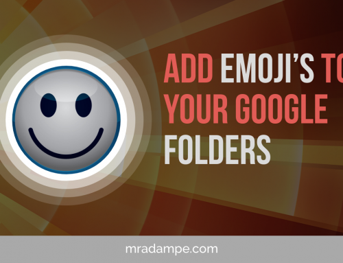 Add Emoji's To Your Google Folders