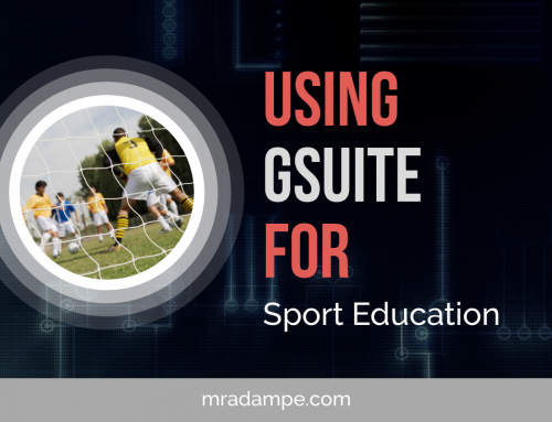 Using GSuite for Sport Education