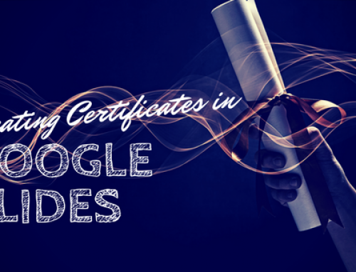 Creating Certificates in Google Slides