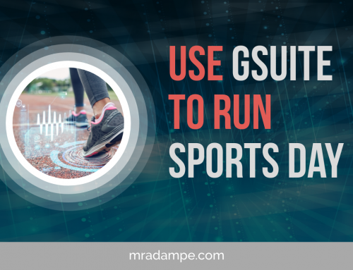 Use GSuite To Run Sports Day