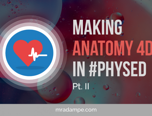 Making Anatomy 4D In #Physed Pt II