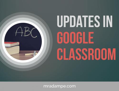 Updates In Google Classroom